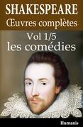 Oeuvres complètes de Shakespeare - Vol. 1/5 : les comédies