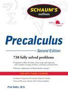 Schaum's Outline of PreCalculus, 2nd Ed.