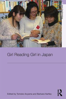 Girl Reading Girl in Japan