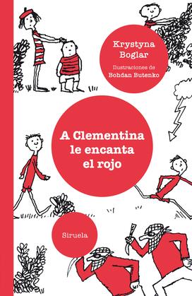 A Clementina le encanta el rojo