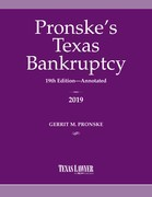 Pronske's Texas Bankruptcy 2019