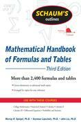 Schaum's Outline of Mathematical Handbook of Formulas and Tables, 3ed