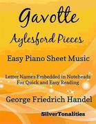 Gavotte Aylesford Pieces Easy Piano Sheet Music