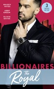 Billionaires: The Royal: The Queen's New Year Secret / Awakened by Her Desert Captor / Twin Heirs to His Throne (Mills & Boon M&B)