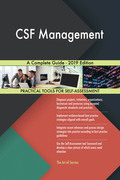 CSF Management A Complete Guide - 2019 Edition