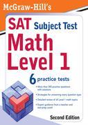 McGraw-Hill's SAT Subject Test: Math Level 1, 2/E