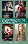 Modern Romance June 2019 Books 5-8: Untouched Until Her Ultra-Rich Husband / A Scandalous Midnight in Madrid / Reunited by the Greek's Vows / Claiming His Replacement Queen