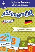 Assimemor – Mes premiers mots allemands : Speisen und Zahlen