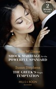 Shock Marriage For The Powerful Spaniard / The Greek's Virgin Temptation: Shock Marriage for the Powerful Spaniard / The Greek's Virgin Temptation (Mills & Boon Modern)