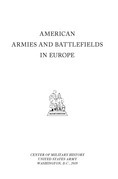 American armies and battlefields in Europe