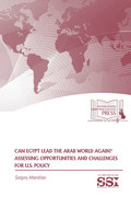Can Egypt lead the Arab world again? : assessing opportunities and challenges for U.S. policy