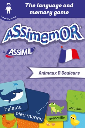 Assimemor – My First French Words: Animaux et Couleurs