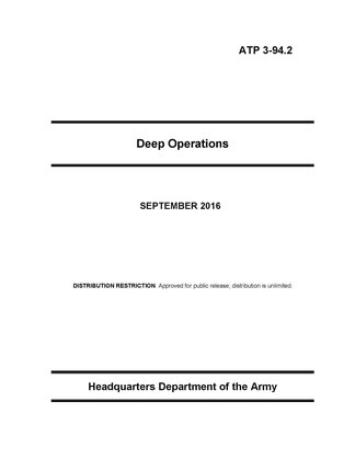 Deep operations.