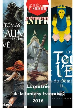 La rentrée de la fantasy française 2016