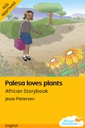 Palesa loves plants