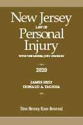 New Jersey Law of Personal Injury with the Model Jury Charges 2020
