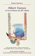 Albert Camus et les écritures du xxesiècle