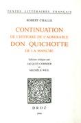 Continuation de l'histoire de l'admirable Don Quichotte de la Manche