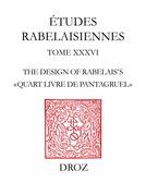 """The Design of Rabelais's """"Quart Livre de Pantagruel"""""""