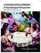 Lifespan Development: A Psychological Perspective