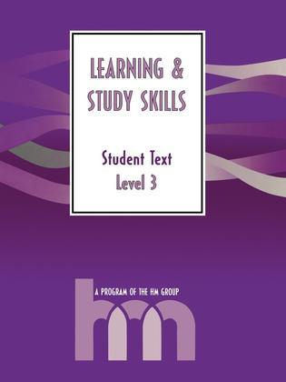 Level III: Student Text: Hm Learning & Study Skills Program