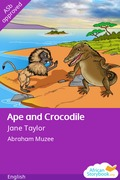 Ape and Crocodile