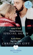 Making Christmas Special Again / Their One-Night Christmas Gift: Making Christmas Special Again (Pups that Make Miracles) / Their One-Night Christmas Gift (Pups that Make Miracles) (Mills & Boon Medical)
