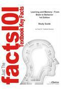 e-Study Guide for: Learning and Memory : From Brain to Behavior by Mark A. Gluck, ISBN 9780716786542