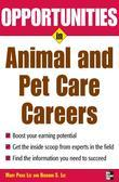 Opportunities in Animal and Pet Careers