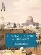 Itinéraire de Paris à Jérusalem