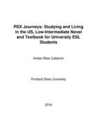 PDX Journeys: Studying and Living in the US, Low-Intermediate Novel and Textbook for University ESL Students