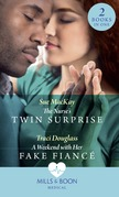 The Nurse's Twin Surprise / A Weekend With Her Fake Fiancé: The Nurse's Twin Surprise / A Weekend with Her Fake Fiancé (Mills & Boon Medical)