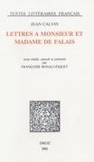 Lettres à Monsieur et Madame de Falai