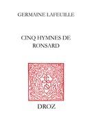 Cinq hymnes de Ronsard