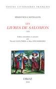 Les Livres de Salomon : Proverbes, Ecclésiaste, Cantique des cantiques 1555