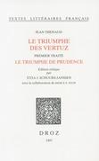 Le Triumphe des vertuz. Premier traité, Le triumphe de prudence (ms. Ars. 3358, ff. 1-148)