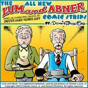 "The All New ""Lum & Abner"" Comic Strips"