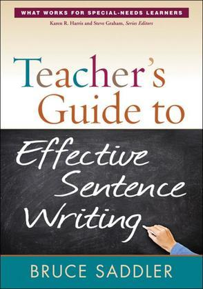Teacher's Guide to Effective Sentence Writing