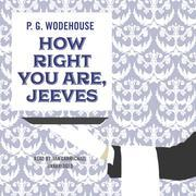 How Right You Are, Jeeves