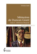 Mémoires de Duncan Grant - Tome II
