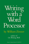 Writing with a Word Processor