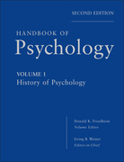 Handbook of Psychology, History of Psychology