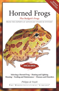 Horned Frogs: Plus Budgett's Frogs