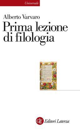 Prima lezione di filologia