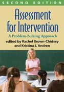 Assessment for Intervention, Second Edition: A Problem-Solving Approach