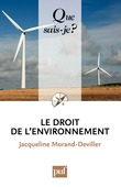 Le droit de l'environnement