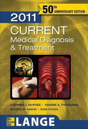 CURRENT Medical Diagnosis and Treatment 2011