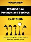 Creating New Products and Services: Paid to Think