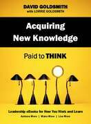 Acquiring New Knowledge: Paid to Think