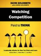Watching Competition: Paid to Think